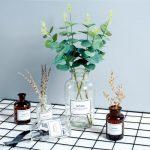 翻旧事 ins花瓶摆件创意家居桌柜台少女心插花干花玻璃透明客厅小装饰品