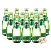 法国Perrier巴黎水 原味天然含气矿泉水330ml*24瓶