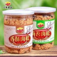 立敦 猪肉松厦门特产儿童海苔肉松酥烘焙罐装寿司专用营养零食 130g*2罐