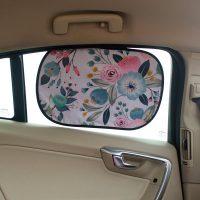 猫秀 车窗遮阳汽车遮阳板帘板吸盘式防晒帘吸盘式静电吸附挡防紫外线 多款可选