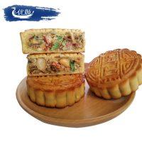 优顺 东北五仁月饼100g*10块 老式豆沙冰糖青红丝枣泥中秋月饼 多味可选