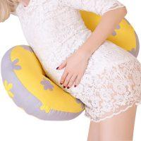 多米贝贝 hyz002 孕妇枕头护腰侧睡卧枕U型枕多功能托腹抱枕靠枕用品夏季