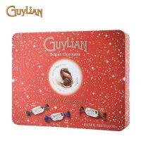 比利时GuyLian吉利莲 魅炫海马巧克力礼听301g 进口零食七夕节礼物