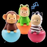 法国Smoby智比 211311-30婴儿不倒翁玩具 宝宝6-7-12个月早教大号0-1岁儿童