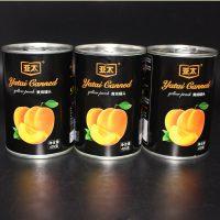 亚太 糖水黄桃罐头水果罐头425g*5罐 中海食品出口品质黄桃对半