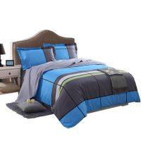 恒源祥家纺 床上用品全棉四件套纯棉被罩床单简约1.81.5m床