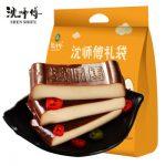 沈师傅 鸡蛋干100g*10袋 四川特产零食小吃食品散装酱香豆腐干豆干