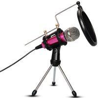 第一眼 M3手机全民K歌直播麦克风 唱吧神器电脑台式唱歌声卡话筒