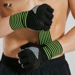 硬派 健身手套运动男女器械哑铃训练锻炼防滑举重透气护手护腕力量