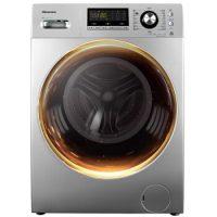 海信(Hisense) 10公斤 洗烘一体变频滚筒洗衣机 智能烘干即洗即穿 暖衣 空气洗  APP控制 XQG100-TH1426FY