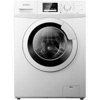 容声(Ronshen) RG80D1202BW 8公斤 变频滚筒洗衣机 零水压 羊毛洗 95℃高温煮洗