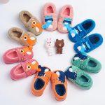 BradMiller布拉米勒 宝宝棉拖鞋女冬季男儿童防滑居家拖鞋小孩毛毛包跟棉鞋 多色可选