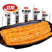 卫龙 大面筋106g*5 辣条零食麻辣辣片小吃特产