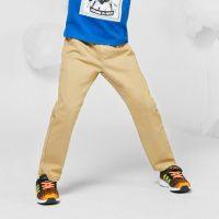 UKiNGmiqi英皇米奇 童装男童裤子秋装新款长裤儿童休闲裤中大童纯棉弹力宽松小脚裤潮 多色可选