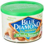 Blue Diamond蓝钻石 原味扁桃仁170g(亚马逊进口直采,美国品牌)
