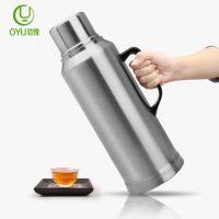 OYU欧豫 家用热水瓶保温瓶不锈钢暖壶学生用宿舍暖瓶开水瓶热水壶茶瓶2L 多款可选