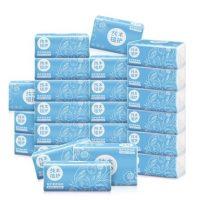 植护 原木抽纸24包整箱家庭装3层抽取式面巾纸卫生纸巾餐巾纸手纸