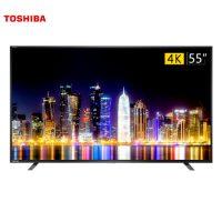 TOSHIBA东芝 55U67EBC 55英寸 4K超高清 智能火箭炮音响 全金属边框 纤薄液晶电视