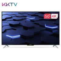 KKTV U50F1 50英寸4K超高清36核HDR 腾讯视频人工智能语音液晶平板电视机(黑色+银色)